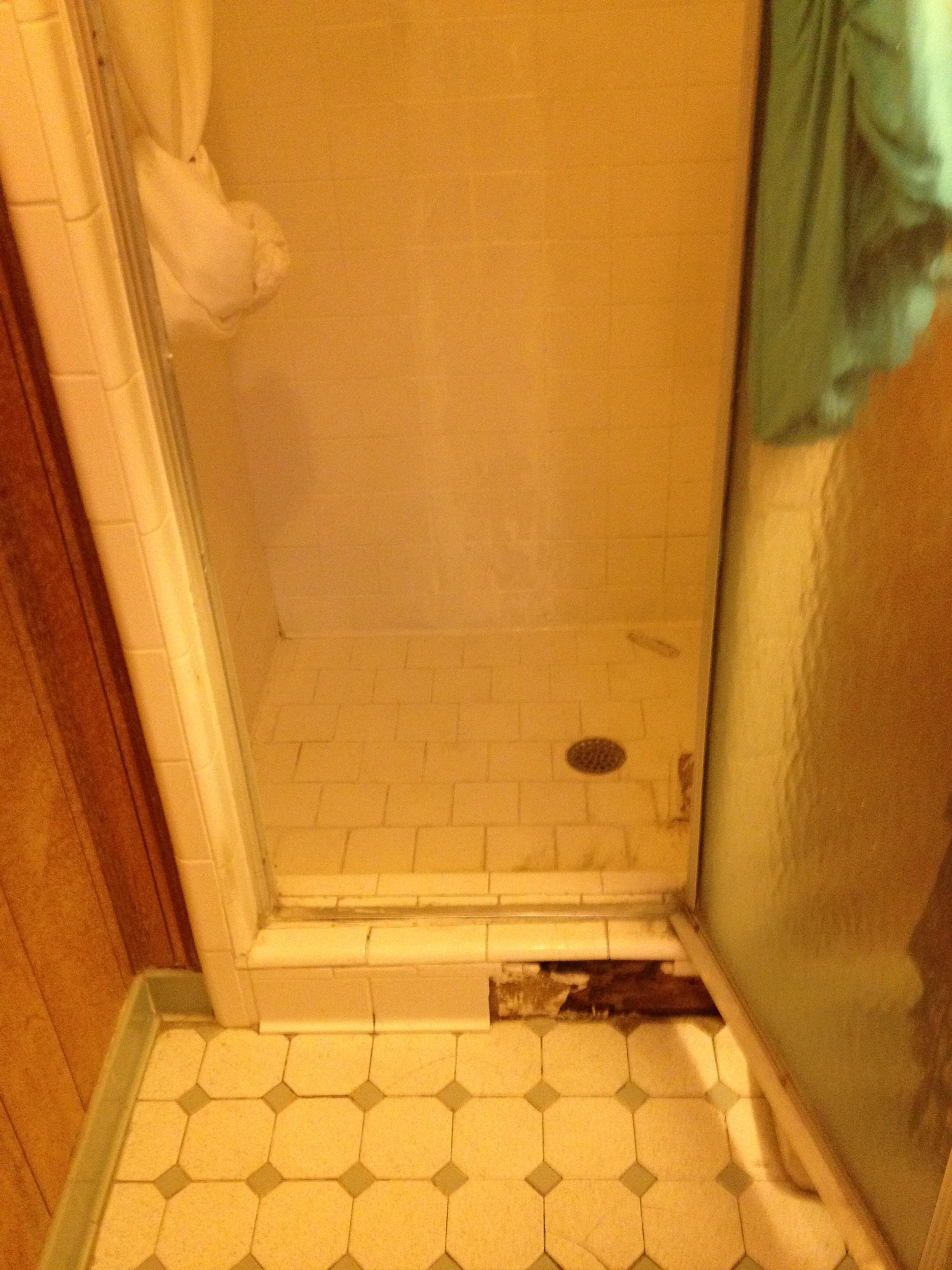 Homewood shower before